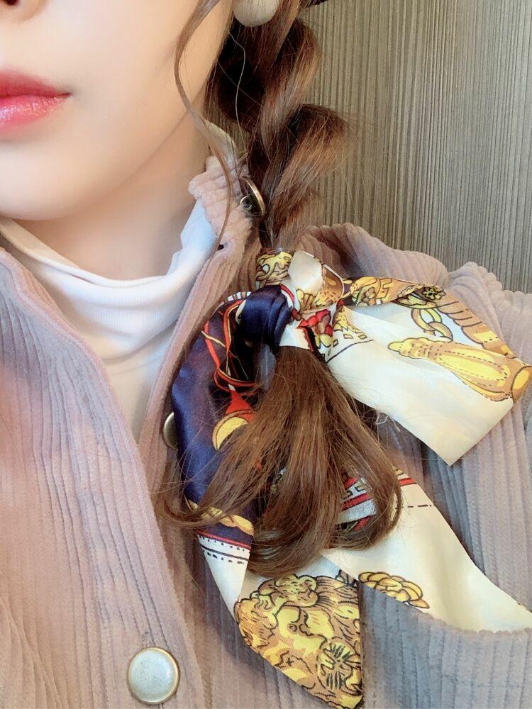 スカーフアレンジpart3