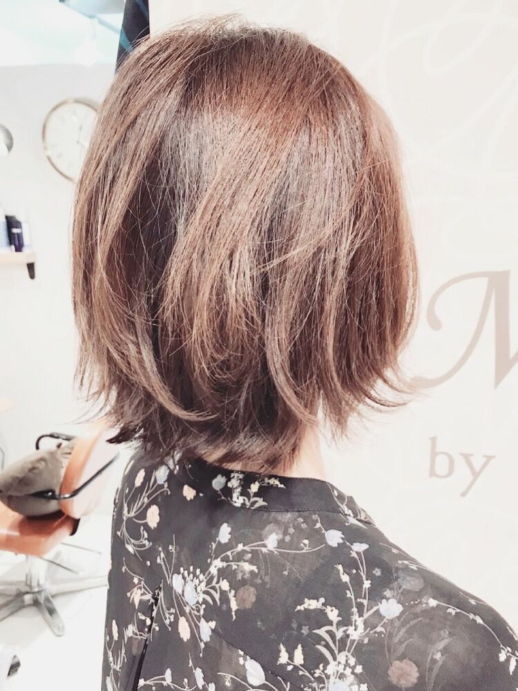 Michelle発のCカーブカットは小顔・ツヤ・トップのボリューム・動き・収まり・モテ髪を叶えます。