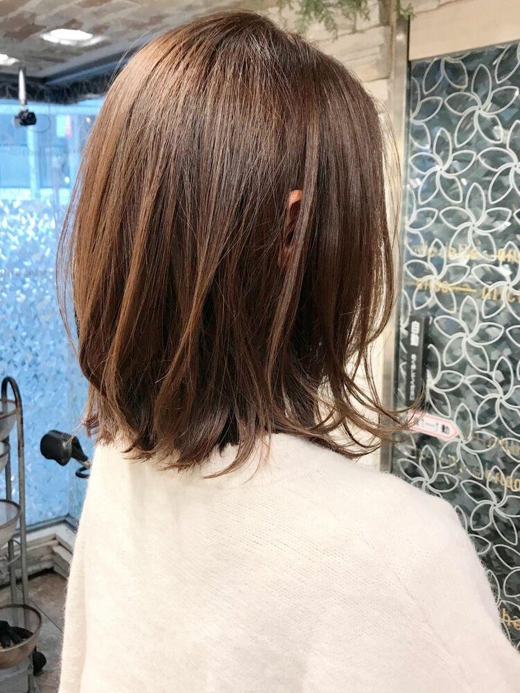 小顔・ツヤ・トップのボリューム・動き・収まり・モテ髪を叶える新カット技法のCカーブカット