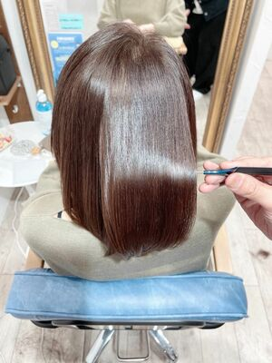 20代30代40代50代髪質改善水素トリートメント「シルク4H」