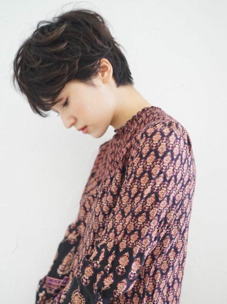 前髪長めのおとなショート / famand ハマジマ
