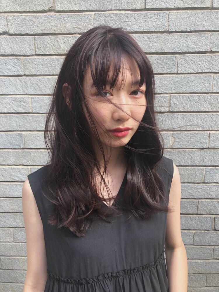 allys hair aoyama 和嶋信和)ピンクブラウンカラー☆インスタ@allys_waji