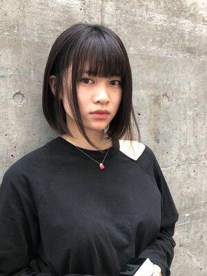 allys hair aoyama 和嶋信和 ミニボブ☆インスタ@allys_waji