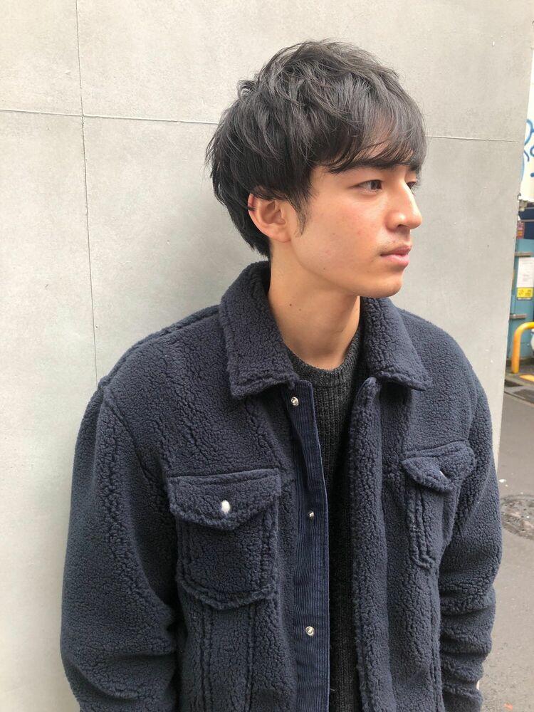 allys hair aoyama和嶋信和 無造作パーマスタイル☆インスタ@allys_waji