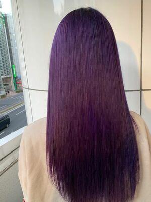 allys hair aoyama 和嶋信和 ヴェールバイオレット☆インスタ@allys_waji
