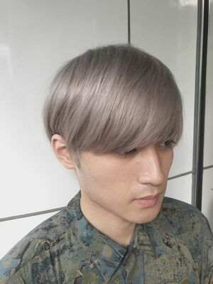 allys hair aoyama 和嶋信和 ホワイトベージュ☆インスタ@allys_waji