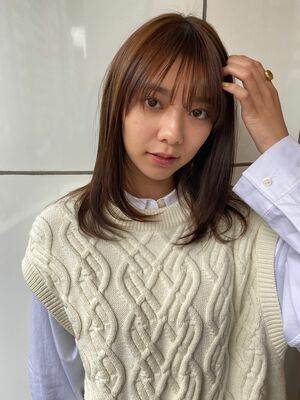 allys hair aoyama 和嶋信和オルチャンモテレイヤー☆インスタ@allys_waji