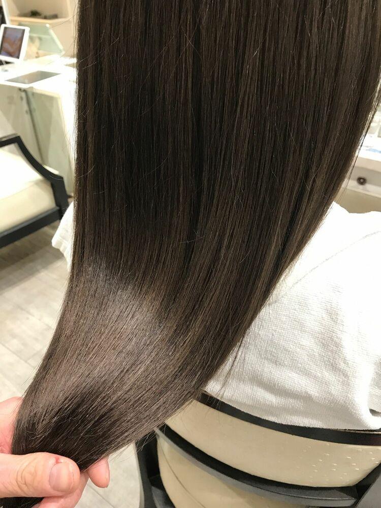 allys hair aoyama 和嶋信和)髪質改善ケア☆インスタ@allys_waji