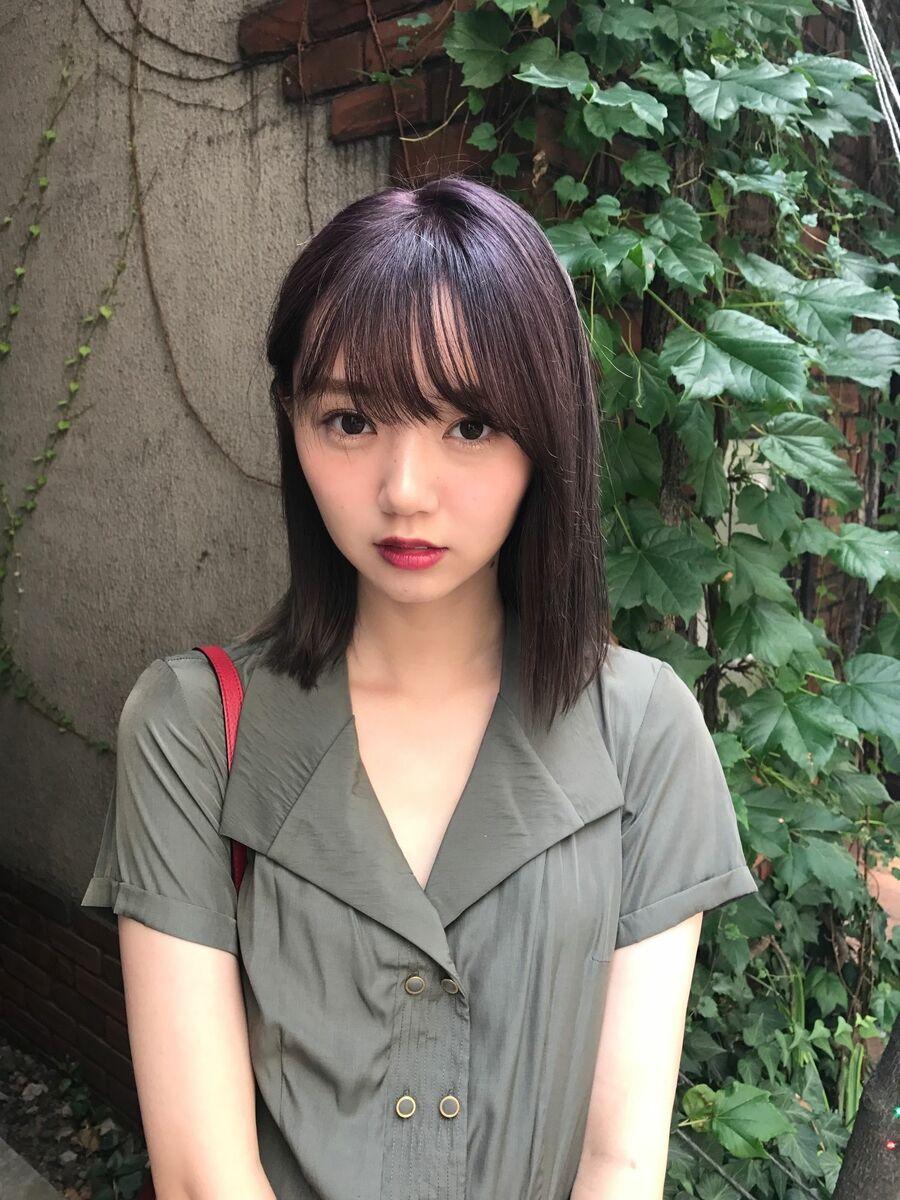 allys hair aoyama 和嶋信和 コリアンパープルボブ☆インスタ@allys_waji