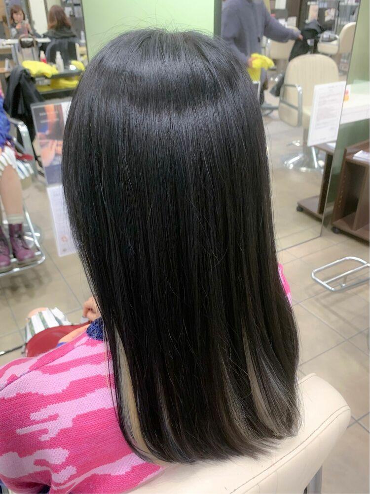 艶髪×インナーホワイト