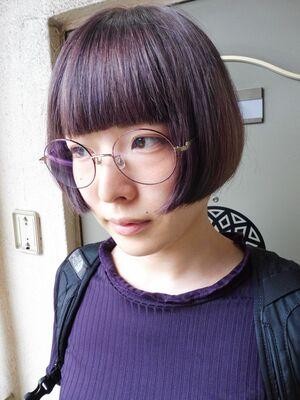 ぱっつんスタイル