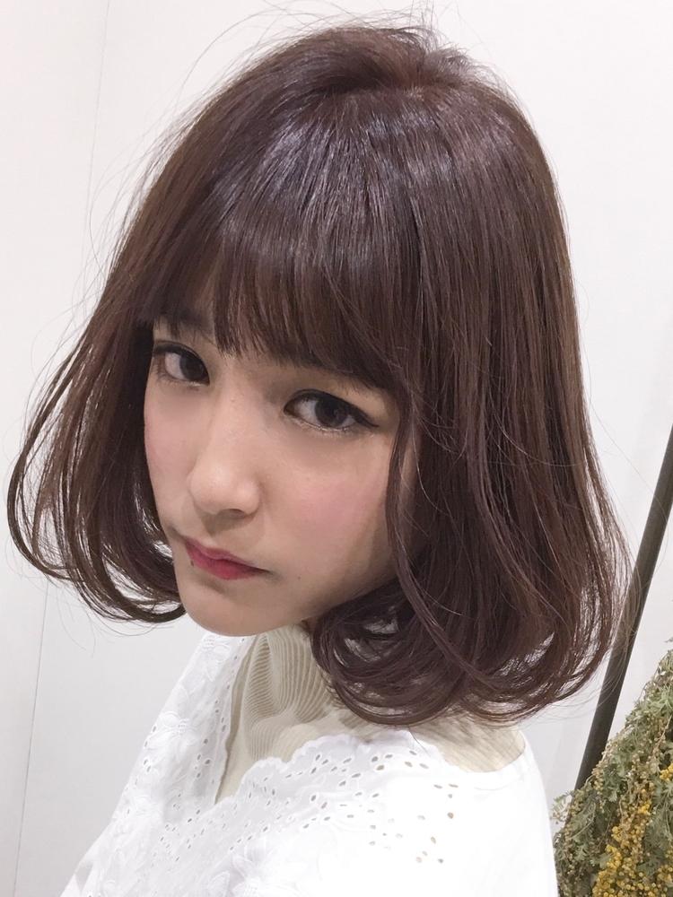 ツヤ感MAX☆内巻きワンカール