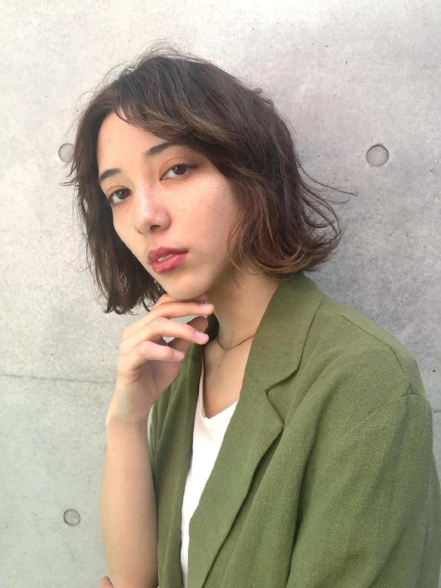 Lond表参道スタイリスト冨田麻友《大人カジュアル外ハネボブ》