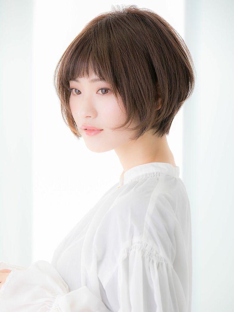 「Euphoria銀座グランデ 担当 金沢」☆小顔+絶壁解消☆大人ショートボブ♪
