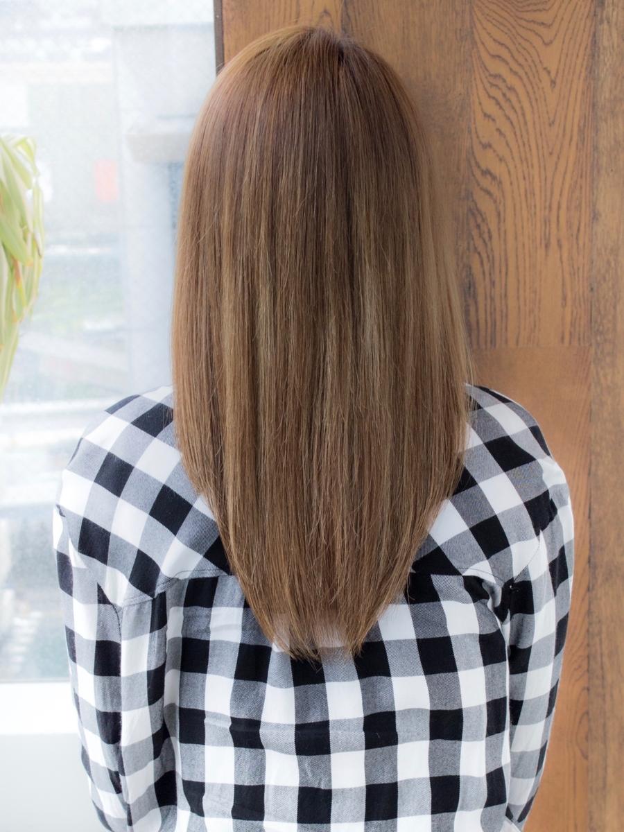 AFLOAT明日香のカジュアルストレートヘア