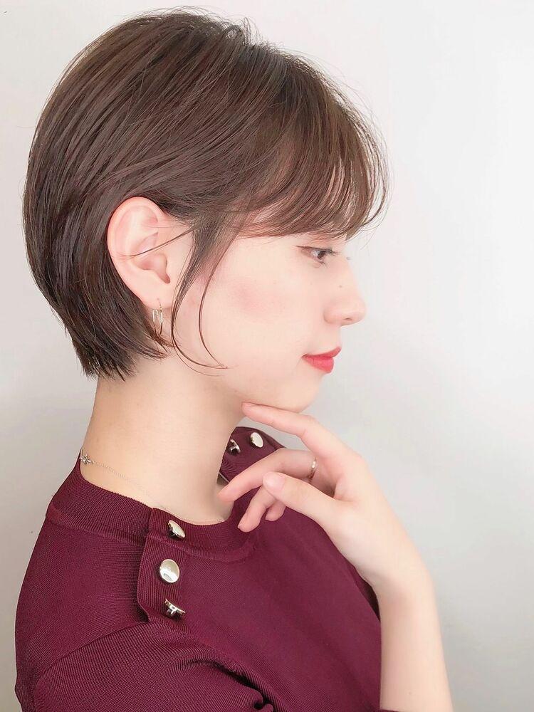☆女性らしいショートヘア☆ABBEY川原大地