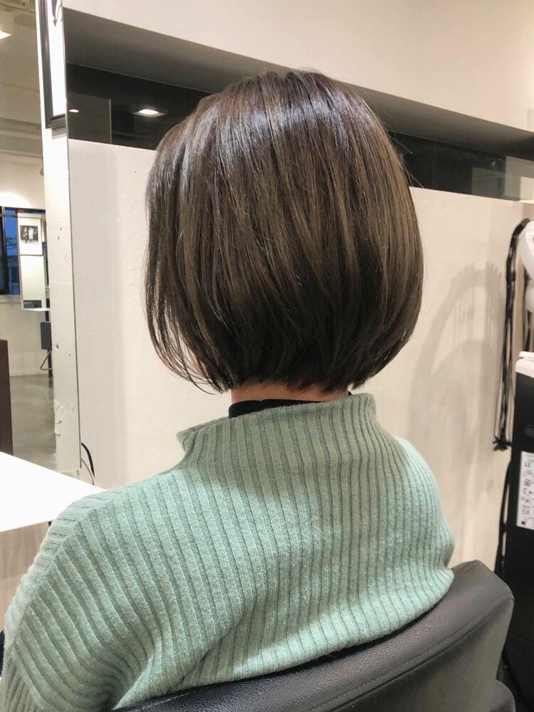 ☆似合わせ丸みボブ☆ABBEY川原大地