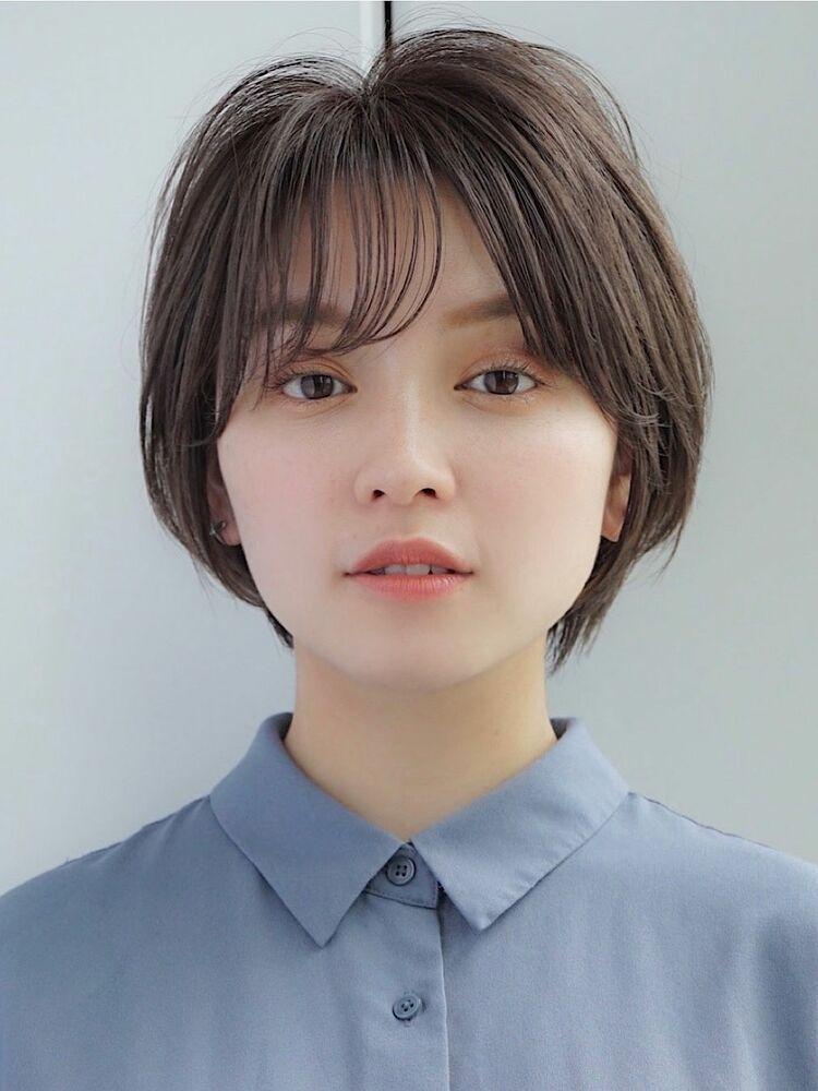 ひし形小顔ショートボブ【AIN.】川原大地