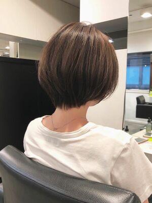 ☆似合わせ丸みショートボブ☆ABBEY川原大地