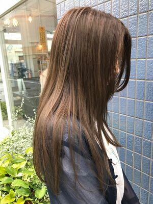 髪質改善ナチュラルストレートパーマ