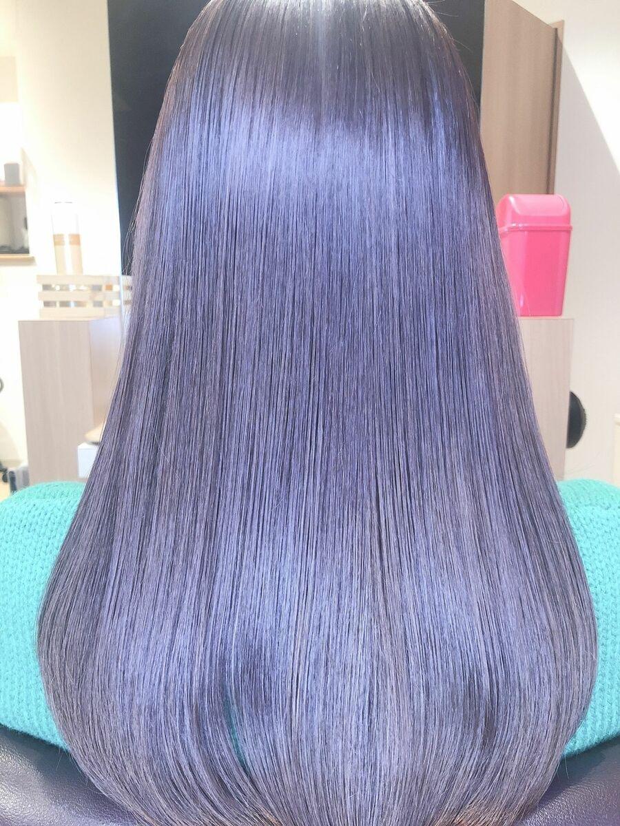 髪質変わるツヤ髪ストレート