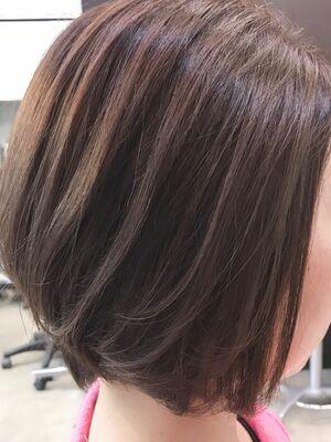 LIBERTY-A 西大島 松坂 拓馬 シンプルなグラデーションボブ。