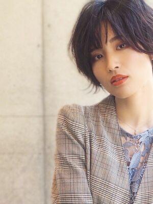 LIBERTY-A 西大島 松坂 拓馬 大人女性にオススメ☆ ナチュラルショートヘア