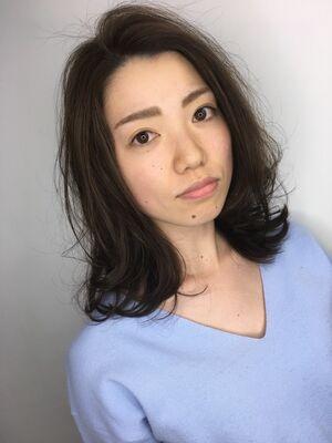 L.O.G青木★外ハネミディアム