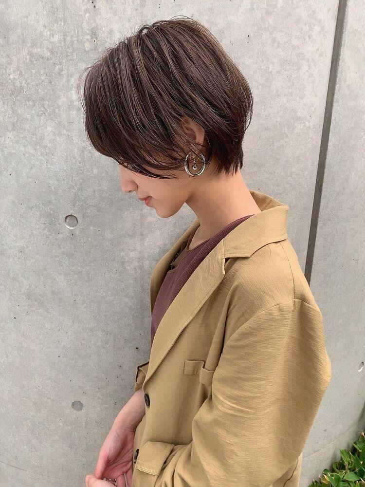 Euphoria☆全方位どこから見ても美シルエットが自慢ハンサムショート☆新宿