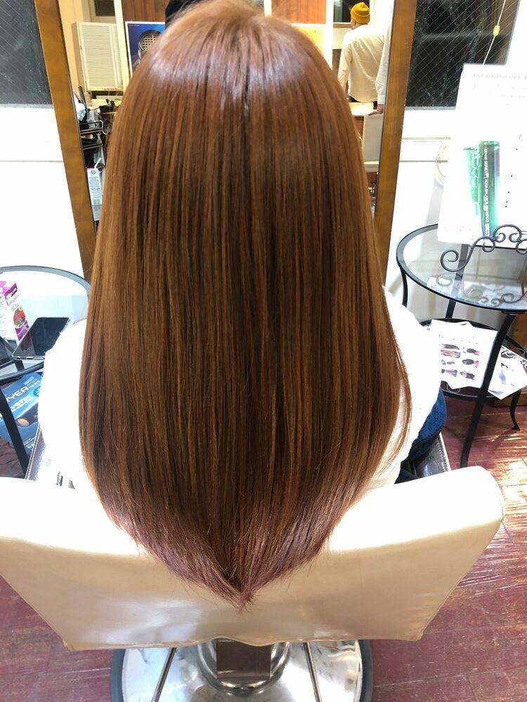 カットカラー+髪質改善トリートメント