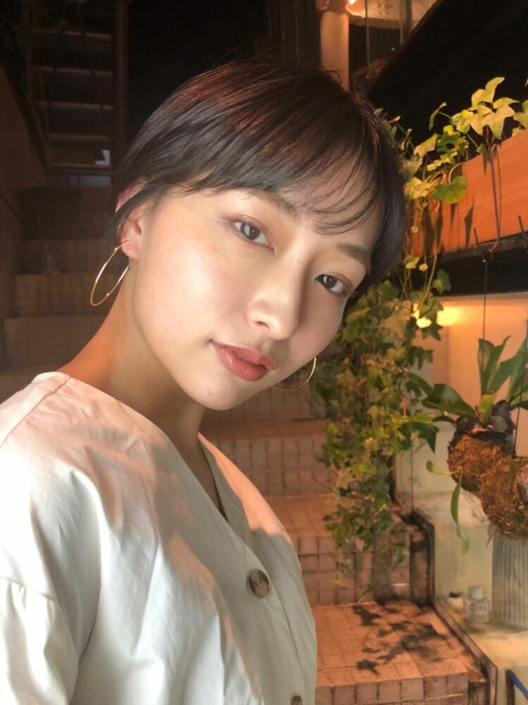 CYANDELUCCA]大人の余裕感漂う☆ショートヘア