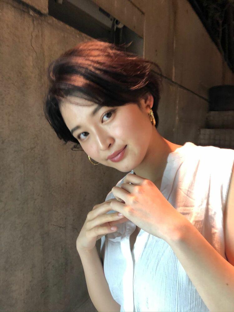 [CYANDELUCCA]前髪長め☆大人ショート