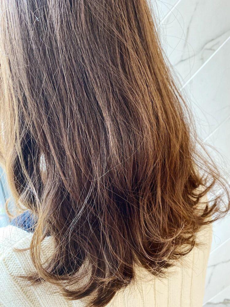 2020年トレンド髪質改善サイエンスアクアinイルミナカラー オリーブベージュ☆Zina 銀座 出口