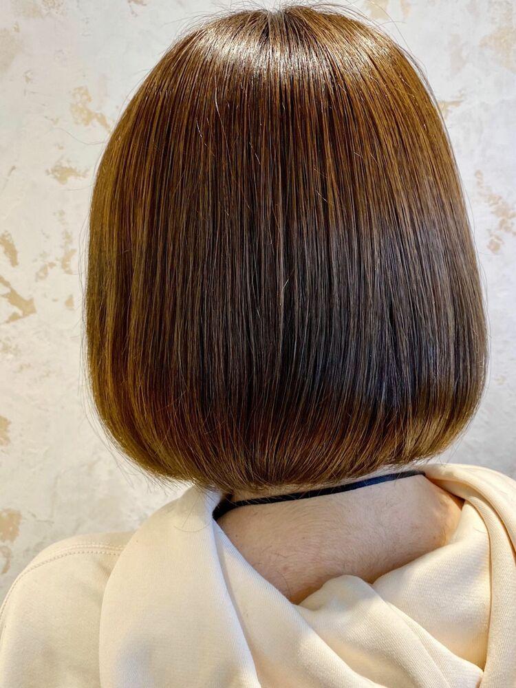 髪質改善艶トリートメントサイエンスアクアinイルミナカラー☆Zina CENTRAL出口 耕太郎