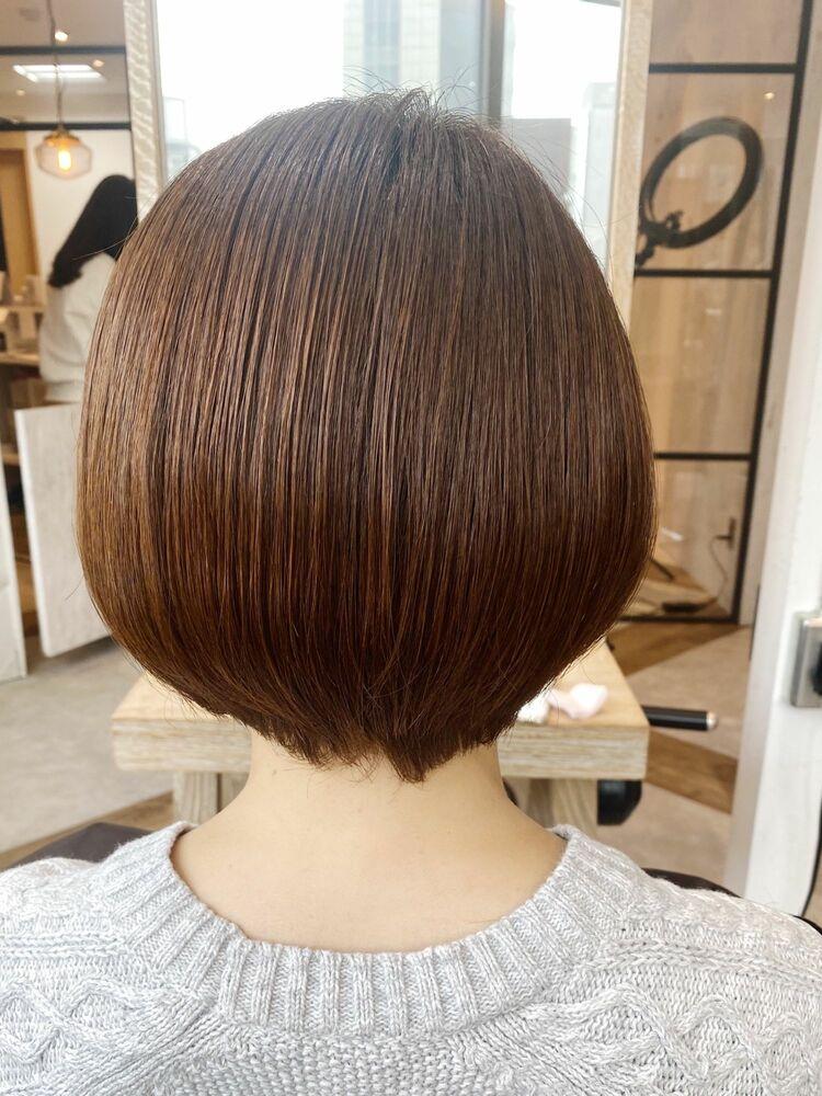 艶髪まとまり重視!最高級髪質改善カラーシアアッシュボブ☆ Zina CENTRAL銀座 出口 耕太郎