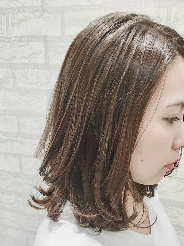 シアオリーブベージュ レイヤーロブ☆Zina CENTRAL 銀座 出口 耕太郎