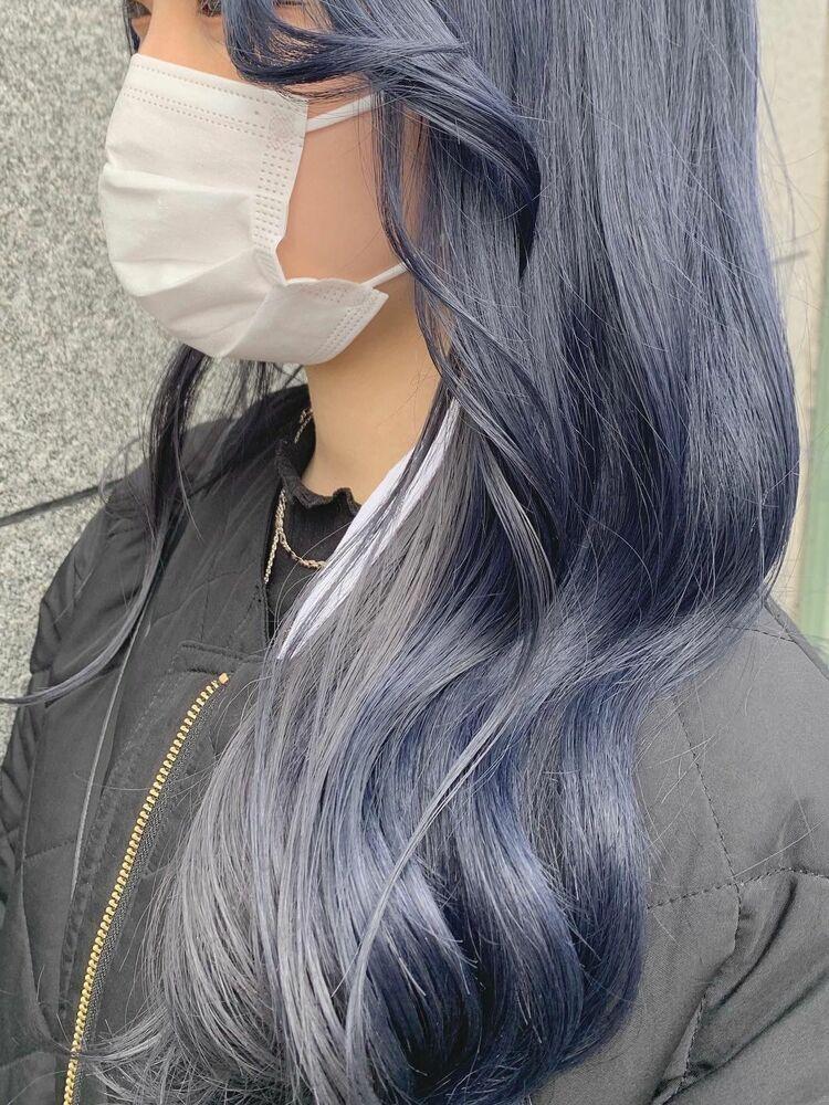 ブルー×シルバー