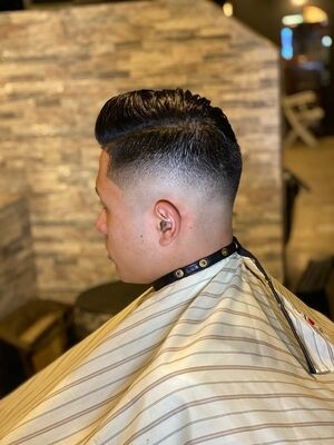 Low skin fade classic style