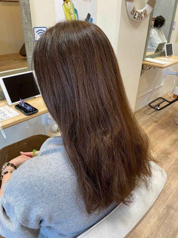 髪質改善トリートメントで髪にご褒美を♩