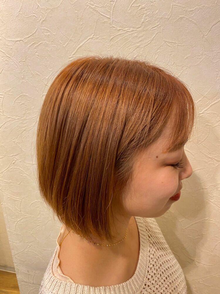 ほんのりオレンジカラー☆