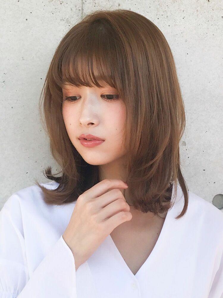 マニッシュショートブランジュネイビーカラー美髪フレンチボブ