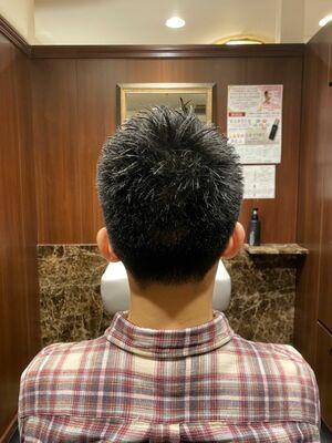 清潔感抜群!ビジネスショート/ヒロ銀座/六本木/理容室