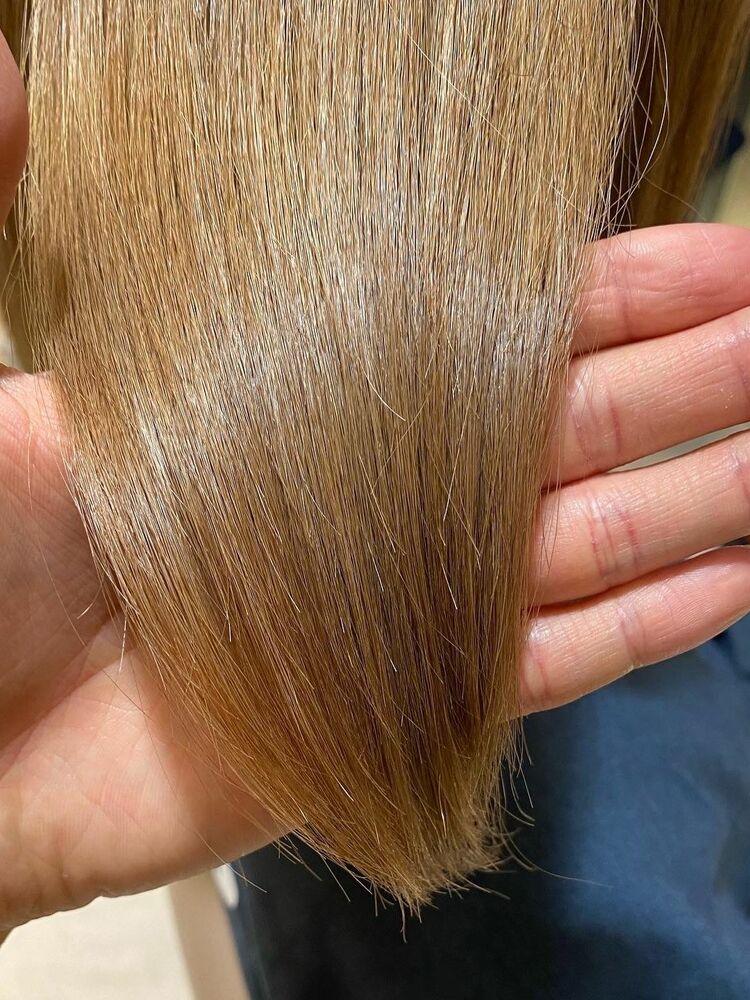 ダメージレスカットと髪質改善トリートメントで大幅BeforeAfter!