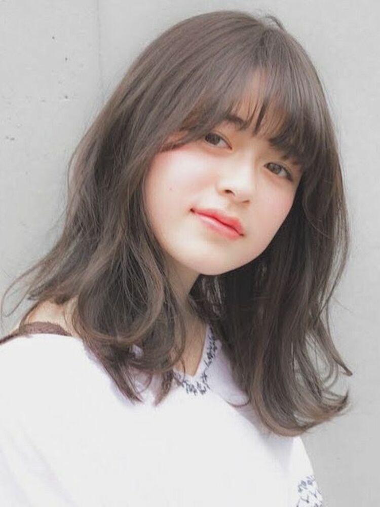 ゆるふわグレージュミディアム☆ 自然な縮毛矯正はお任せください!くせ毛でお悩みの方はぜひ^ ^