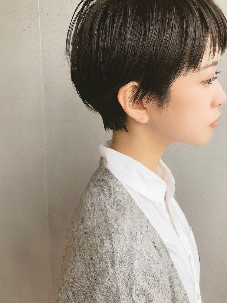 ミニマムショート×黒髪