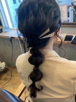 ヘアセット/編み下ろしヘアセット