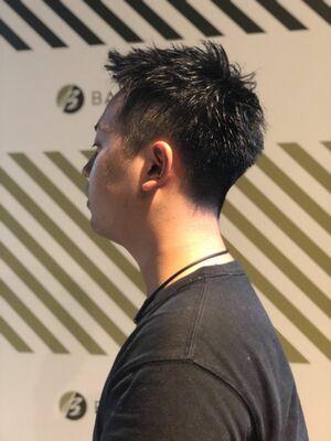メンズの定番ベリーショート!髪型をチェンジすればイメージが変わる!!