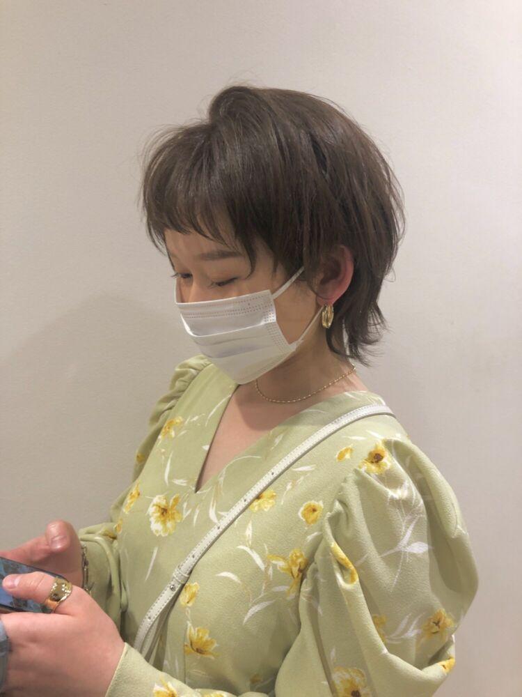☆ウルフレイヤー×くびれひし型透明感カラー☆