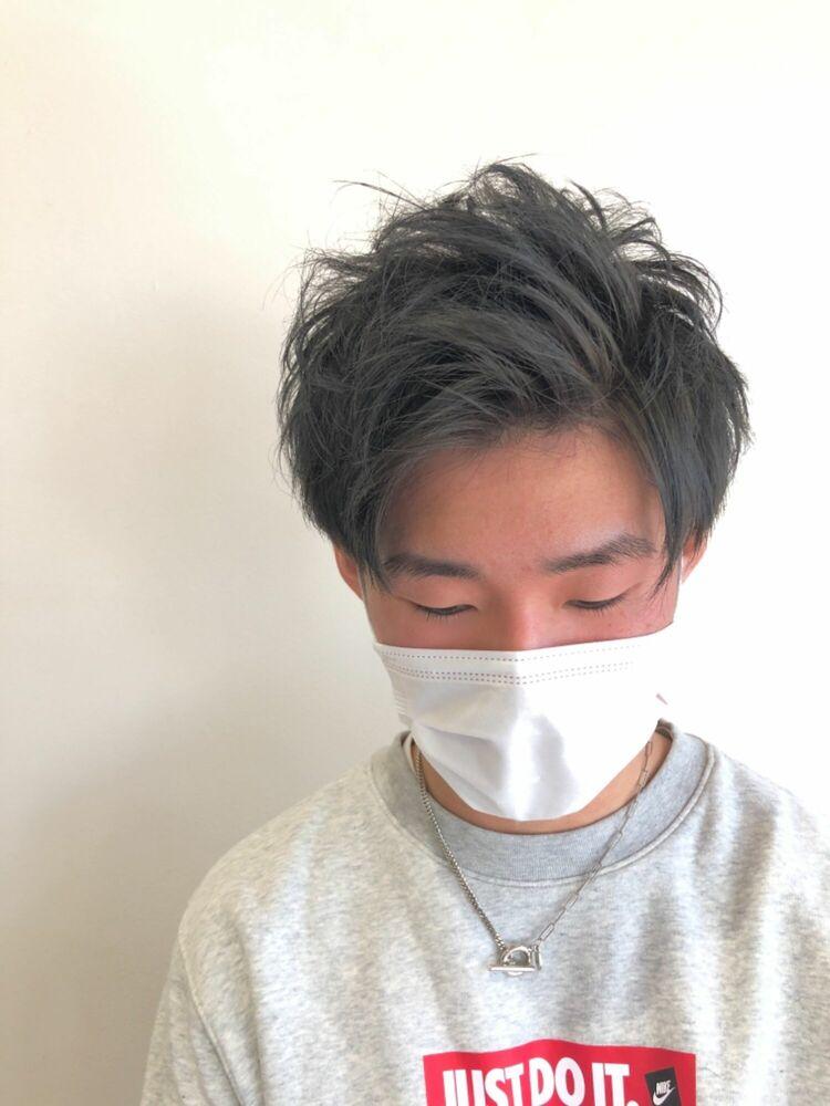 ☆ワイルドアップバング×抜け感グレージュ☆
