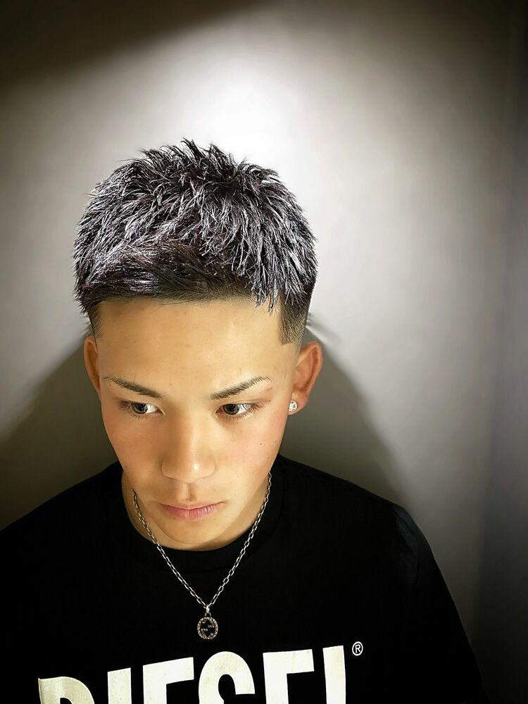 フェードTHA短髪